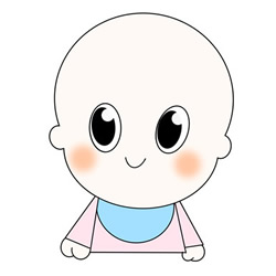 How to Draw a Cartoon Baby Easy