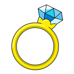How to Draw a Diamond Ring Easy Step by Step for Kids