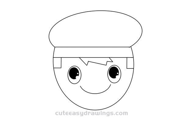 How to Draw an Avatar of a Navy Soldier Easy for Kids