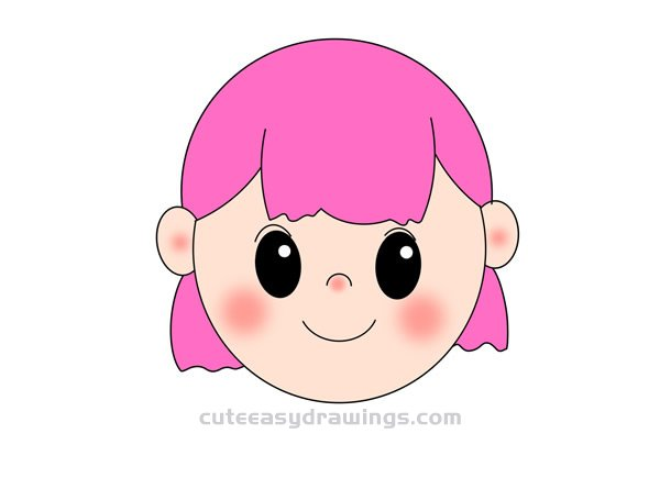 How to Draw a Girl Avatar Easy for Kids