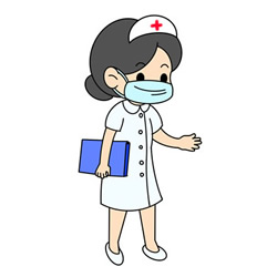 How to Draw a Nurse Wearing a Mask Easy for Kids