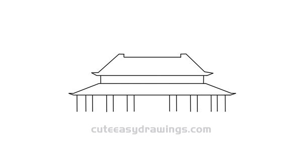 How to Draw Tiananmen Square Easy Step by Step for Kids