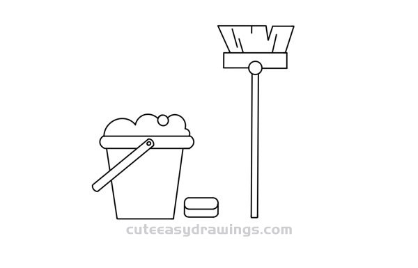How to Draw Cleaning Products Easy Step by Step for Kids