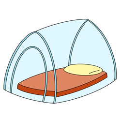 How to Draw a Mosquito Net Easy Step by Step for Kids