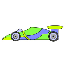 How to Draw a Cool Racing Car Easy Step by Step for Kids