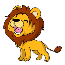 How to Draw a Roaring Lion Easy for Kids