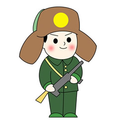 How to Draw a Soldier Standing Guard Easy for Kids