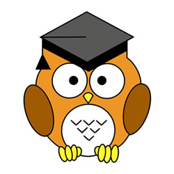 How to Draw an Owl Wearing a Mortarboard Easy for Kids