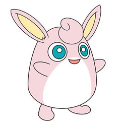 How to Draw Wigglytuff in Pokemon for Kids