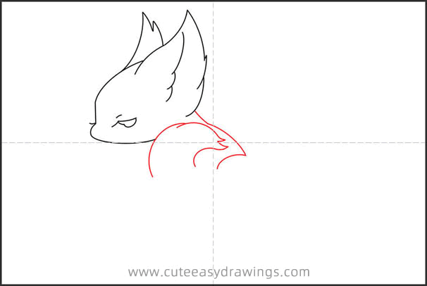 How to Draw a Nine Tailed Fox Step by Step