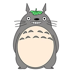 How to Draw a Totoro Step by Step for Kids