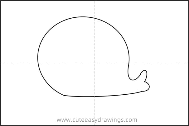 Cute Little Seal Drawing Tutorial Easy for Kids
