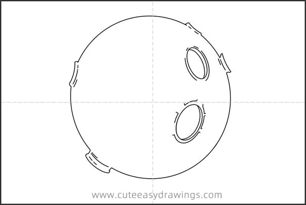 How to Draw a Realistic Moon for Kids