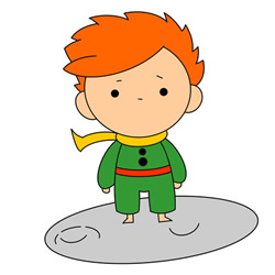 How to Draw Le Petit Prince Step by Step for Kids