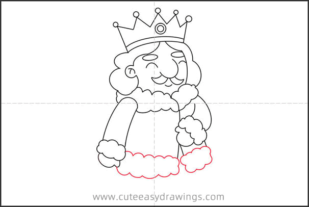 How to Draw a Kind King Step by Step for Kids