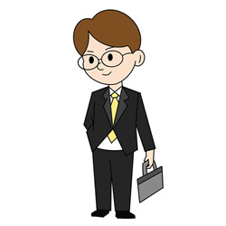 How to Draw an Office Worker Step by Step for Kids