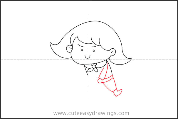 How to Draw a Little Prince Playing with a Wooden Horse