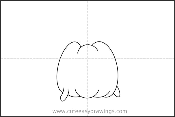 How to Draw a Cartoon Halloween Pumpkin Step by Step for Kids