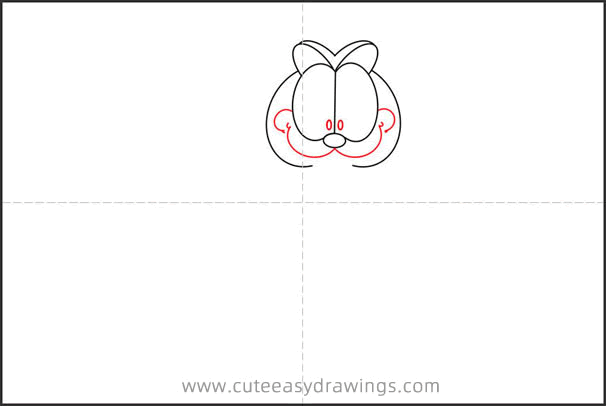 How to Draw Cartoon Garfield Step by Step for Kids