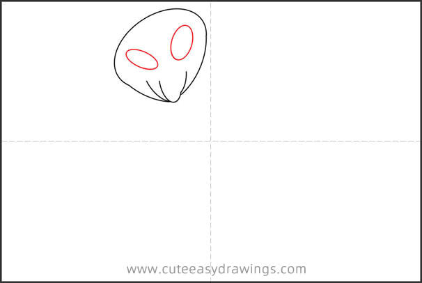 How to Draw a Ghost Step by Step for Kids
