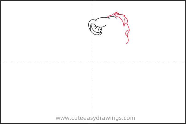 How to Draw an Alert Simba Step by Step for Kids