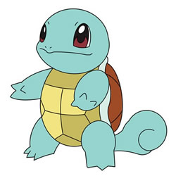 How to Draw Squirtle from Pokémon Step by Step