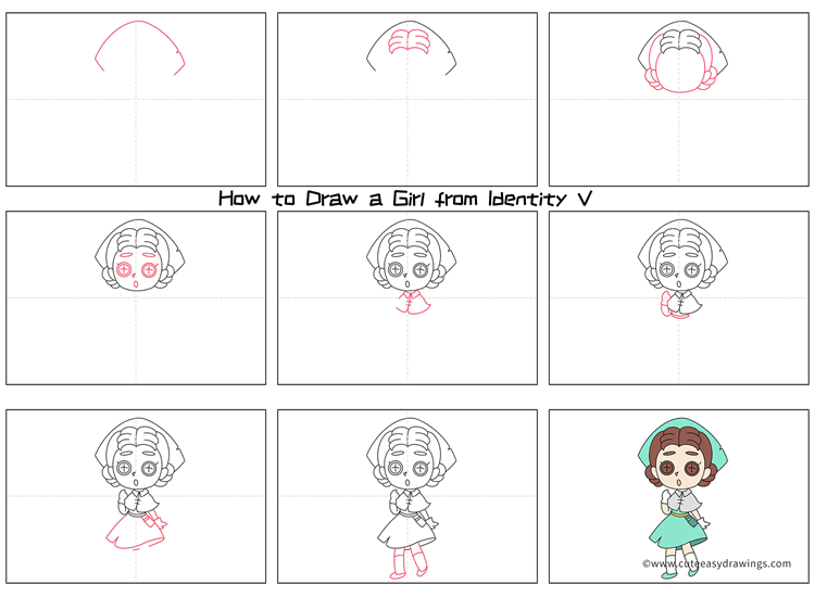 How to Draw Emily Dale from Identity V