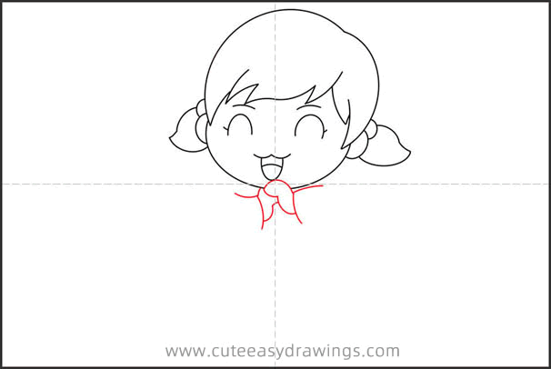How to Draw a Girl for Chinese New Year