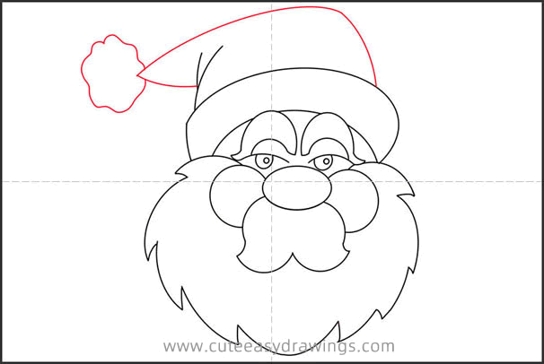 How to Draw an Angry Avatar of Santa Claus