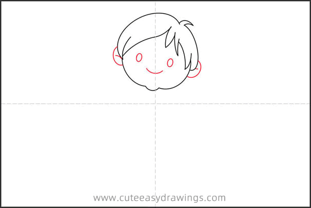 How to Draw a Gentleman Boy Step by Step