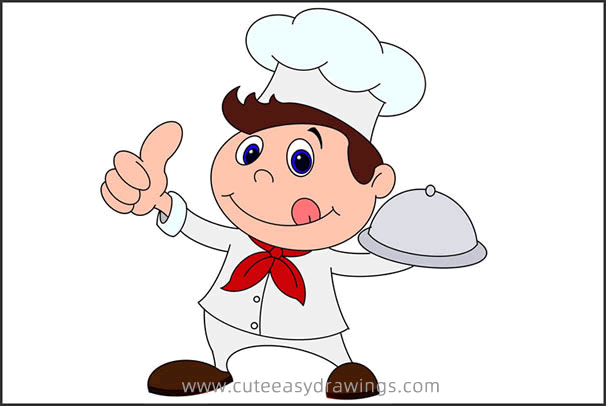 How to Draw a Chef for Kids