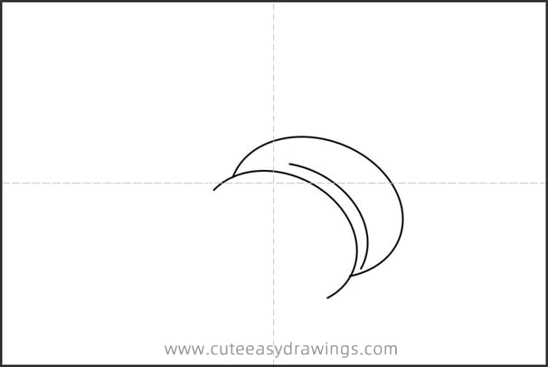 How to Draw a Croissant Easy Step by Step for Kids
