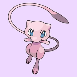 How to Draw Mew from Pokémon Step by Step