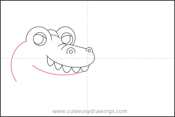 How to Draw a Crocodile Step by Step for Kids