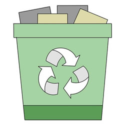 How to Draw a Trash Can Step by Step