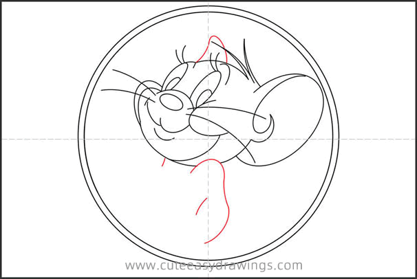 How to Draw Jerry the Mouse Step by Step