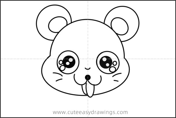 How to Draw a Weird Mouse Easy Step by Step for Kids