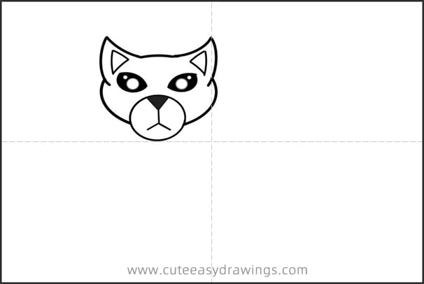 How to Draw a Burmese Cat Step by Step for Kids