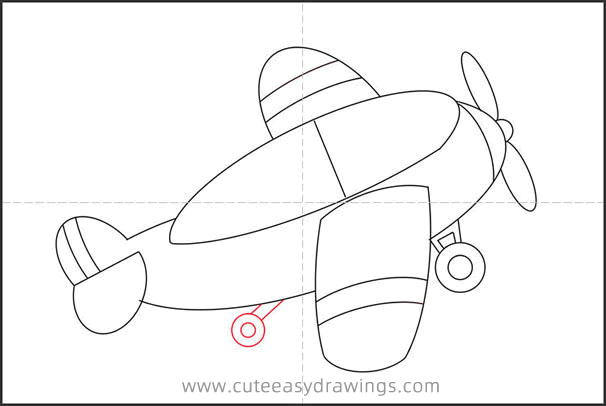 How to Draw a Small Plane Step by Step