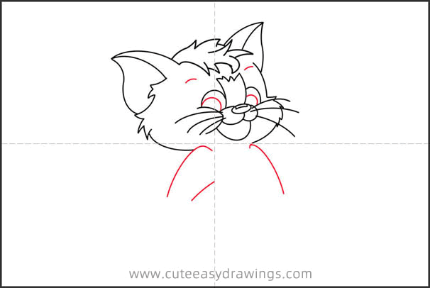 How to Draw Baby Tom Step by Step