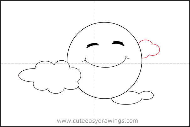 How to Draw a Cartoon Moon Step by Step