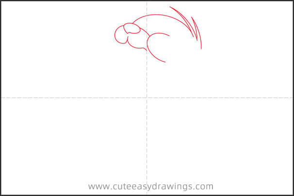 How to Draw Tuffy from Tom and Jerry Step by Step