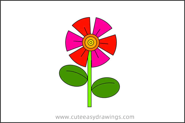 How to Draw a Flower Step by Step