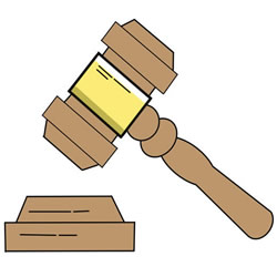 How to Draw a Gavel Step by Step