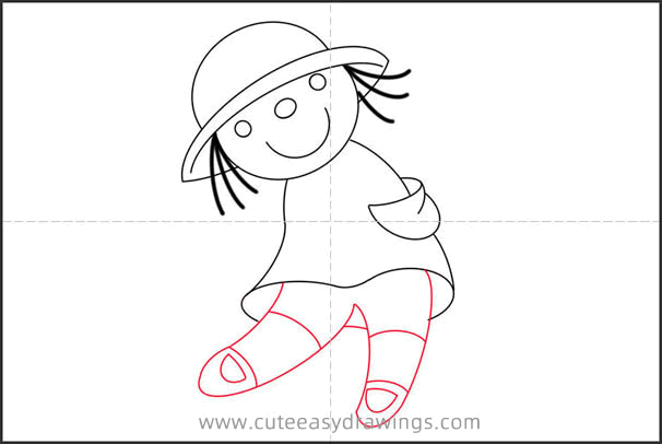 How to Draw a Rag Doll Step by Step