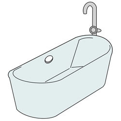How to Draw a Bathtub Step by Step