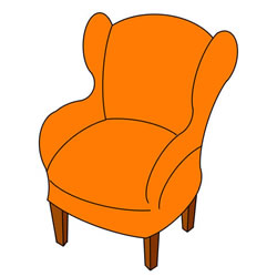 How to Draw a Single Sofa Step by Step
