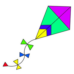 How to Draw a Kite Step by Step