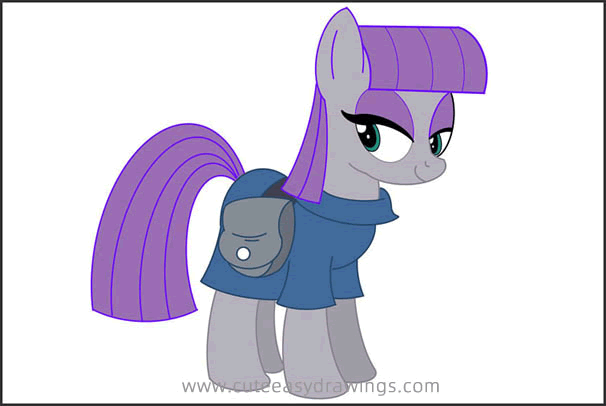 How to Draw Maud Pie Step by Step