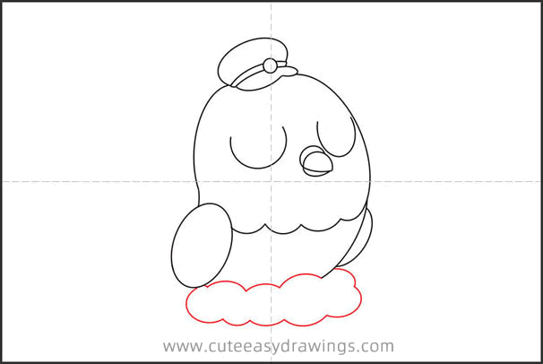 How to Draw a Postman Pigeon Step by Step